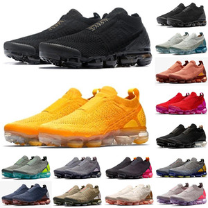 2021 Mens Moc 2 Laweless Reage Almofada 2.0 Fly Running Shoes Preto Branco Para Womens Leve Treinadores de Tricotores Sneakers Sports des Chaussures