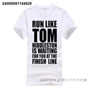 Phiking film shirt girocollo Uomini manica corta Graphic Runer Come Tom Hiddleston magliette 26151210