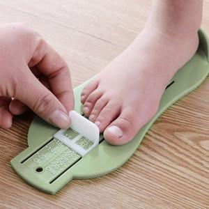 0-20cm Fuß Messen Werkzeug ABS Babypflege Kind-Säuglings Fuß Measure Spur Schuhe Größe Meßlineal Werkzeuge Dropship 3 Farben GIsG #