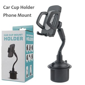Cup Holder Phone Mount Universal Adjustable Car Phone Cradle for Samsung S20 NOTE10 A90 iPhone 11 Pro with Retail Packaging Bionanosky