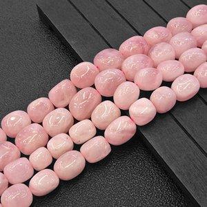 10-11x13-15mm Natural Freefrom Potato Madagascar Rose Quartzs soltas DIY Para fazer jóias Beads Acessórios 15 '' Q1106