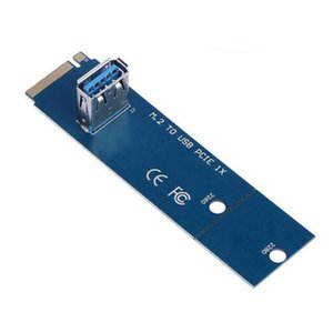 M .2 NGFF a USB 3 .0 PCI -E PCI APRESS X16 Converter Adapter PCIE Extender Miner Miner Mining Tarjeta Gráfica Adaptador Convertidor Tarjetas