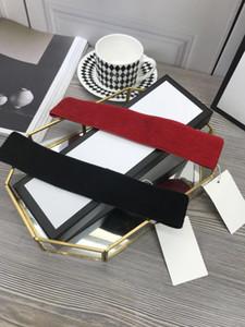 Klassisch Top Beste Qualität Schwarz Weiß Rote Frauen Stirnband mit Box Staubbeutel Mode Frauenkappe Sun Eimer Hut Frauen Designer Stirnband 491820