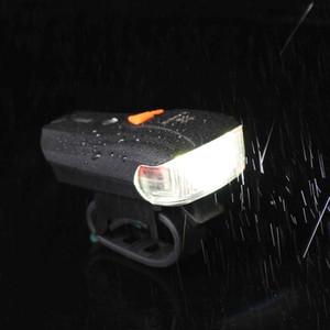 Bike Light Rainproof 600LM Standard Smart Bicycle Front Headlight LED Ultralight Lantern Bicycle Warning Bike Lamp