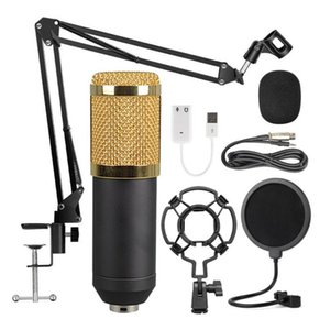 BM-800 Suspension Microphone Kit, 360 degree Universal Desktop Bedside Cantilever Bracket Live Broadcast K Song Kit