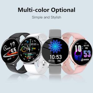 Drop Shipping Wireless Charging Waterproof Men Women Screen Wrist Watch Blood Pressure Heart Rate Monitor Sport Smart Watch