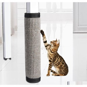 40*30cm Cat Scratch Board Sisal Furniture Bed Mattress Protector Table Chair Sofa Legs Mat Cat Kitten Scratchi qylAnn yh_pack
