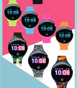 H8 Smart Wristbands large color screen sports waterproof silicone children's smart bracelet 8 colors free shipping