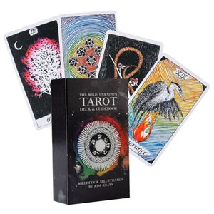 Sauvage inconnu Tarot 78 Cartes Full Deck English Tarot Family Party Board Game N58b yxlhVT otsweet
