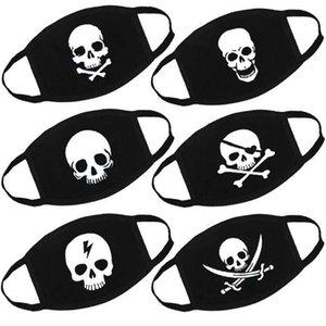 New designer fashion masks Customized Adult Cartoon Skull American Flag face Funny Expression Print Halloween mask