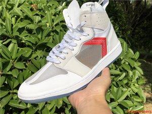 Designer Top 1 High OG Elemento 87 x Sapatos Masculinos cirurgião Man Chaussures de P.J.Tucker esporte reagir com Box