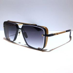 Limited e d шесть солнцезащитные очки мужские металлические винтажные классические солнцезащитные очки модные стиль квадрат безмасштабные UV 400 объектив с корпусом