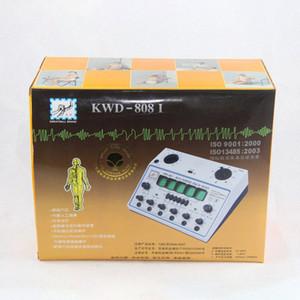 Electro agopuntura stimolatore KWD808I 6 Uscita Patch elettronica di sanità Cura D 1A agopuntura stimolatore macchina KWD 808 I sqiV #
