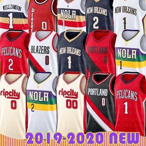 Damian Lillard Carmelo Anthony PortlandpistaBlazersJersey New Jersey Zion Orleans Pelican Williamson Lonzo Brandon Sfera In