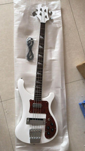 Wholesale custom new 4 string 4003 electric bass the best quality white with free shipping