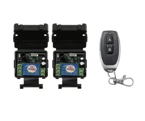 DC 24 v 1CH mini RF wireless remote control radio switch Learning code 2* receiver+1* transmitter 315 433MHZ