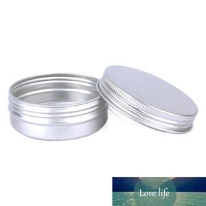 50Pcs / Lot 60ML алюминиевый Баночка для Cosmetic Powder волос Воск Контейнеры 60г Medal алюминиевый корпус 2oz бутылки многоразового