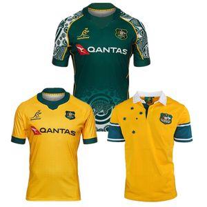 2020 2021 WALLABIES INDÍGENA Australian Rugby Cangurus 20 21 tamanho nacional camisa do time S-5XL