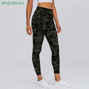 Shinbene Classic 4.0 Camo-panther-geometric Fitness Workout Leggings Women Naked Feeling 7 8 Length Squat Proof Gym Sport Panty