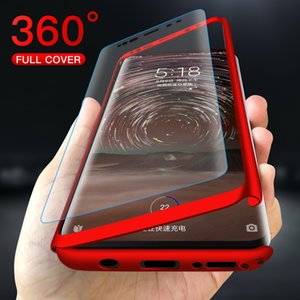 360 Degree Full Cover Phone Case For Huawei Nova 2 2S 3 3i 3E 4 4E 5 5i Pro P smart Z Screen Protector Cases With Tempered Glass
