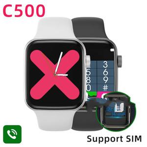 C500 iwo Smart Watch 2020 smartwatch Bluetooth Call SIM Card for IOS PK Oppo Huawei Watch Fit GTS GT 2 w46 W26 q18 gt08 dz09 Z15