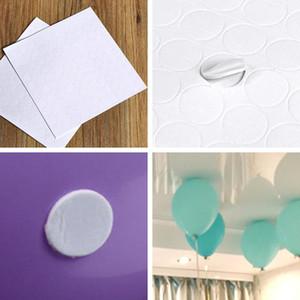 100 Очки Balloon Приложение Клей Dot Приложите шары к потолку или наклейки стены Birthday Party Supplies Свадебные украшения