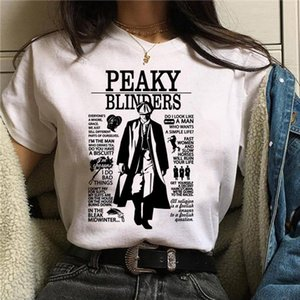 Peaky Blinders T Shirt Top Tee T shirt Oversized Male women Men Tshirt Fashion Streetwear Hip Hop Shirts Cool O Neck Summer