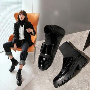 الأحذية Zorssar جولة رأس المرأة الجوارب ومع رائد جلد البقر والعرق تنفس تنفس الألياف الفائقة المواد