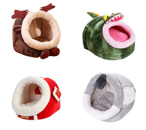 Pet Shop Pet Bed Casa Com Waterproof Forma animal Cat Dog Bed Casa Factory Direct Venda Pet Supply