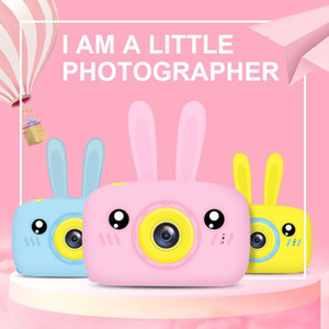 Child camera HD digital camera 2 inch cute cartoon toys children birthday gift 1600w child toys
