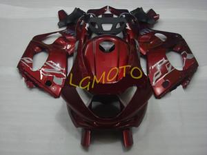 ABS carénages d'injection pour le vin rouge YAMAHA YZF600R Thundercat 97-07 1997-2007 kits carrosserie moto Capots YZF 600R Carrosserie kit carénages