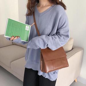 Retro Temperament Flip Shoulder Bag Ins Spring and Summer New Female Bag Leisure Fashion Oblique Satchel