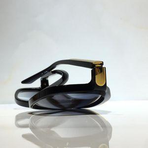Доказательства миллионов 0350 Солнцезащитные очки Ретро Урожай Мужчины Женщины Классические Солнцезащитные Очки Блестящие Золотые Летние Стиль Лазерное Позолоченное Покрытие
