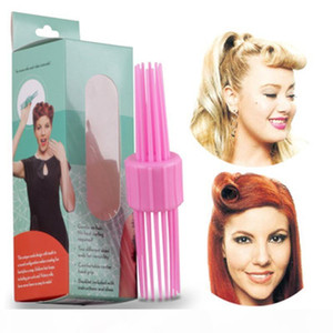 2020 fashion new Plastic Hair Comb Styling Curler Hair Comb DIY Styling Tools Magic Curler Hair Rollers
