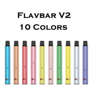 Autentico Yocan Flavbar V2 monouso Vape Pen Pod dispositivo 5ml 1000 soffi di vapore del sistema 10 colori vaporizzatore Kit