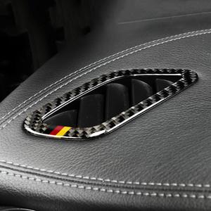 메르세데스에의 Class 2,013에서 2,018 사이 CLA에 대한 탄소 섬유 대시 보드 에어 아울렛 프레임 자동차 스티커 자동차 스타일링 2,014에서 2,018 사이 GLA 2015년부터 2018년까지