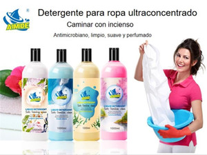Detergent 1L Perfume Flavor Disinfecting And Sterilizing Plant Enzyme Phosphorus-Free Environmental Washing Powder