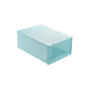 Thicken Clear Plastic Shoe Boxes Dustproof Shoe Storage Box Transparent Shoe Boxes Candy Color Stackable Sh qylKpN pets2010