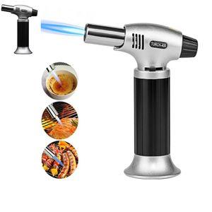 NOUVEAU 1300C Butane Scorch Torch Torch Torch Briquets de flamme Cuisine Réglable Réglable Ajuster la flamme Cuisine Allumage Allumper Spray Tool de pique-nique HH7-1147