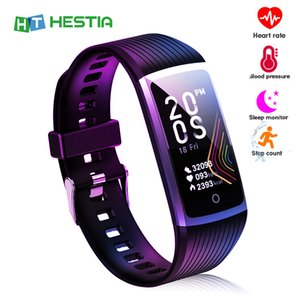 Health Bracelet Smart band men Fitness Tracker Activity Smartwatch real-time monitor 5 in 1 Pedometer Sports Wristband women man
