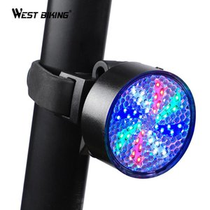 Whirling Windmill LED Bicycle Tail Light 8 Light Modes USB Charge Bike Waterproof Safety Warning Seatpost Cycling