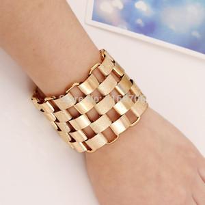 KMVEXO 2020 New Fashion Designer Bijoux Bracelets For Women Accessories Gold Alloy Cuff Bangles Statement Jewelry