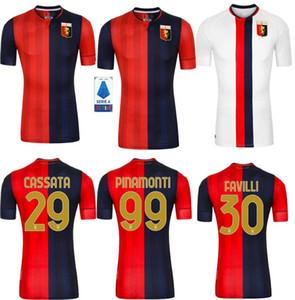 in stock!Genoa CFC soccer jerseys away20 21 maglie da calcio #10 GUMUS #11 KOUAME #17 ROMERO #27 STURARO S. #99 PINAMONTI football shirts
