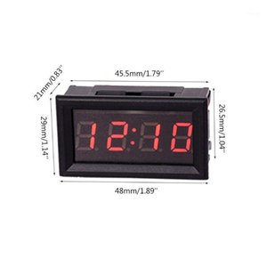 DIY Vehicle Electronic Clock Car Motorcycle Time Display Module Power-off Memory1