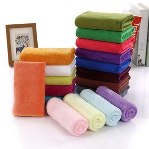 Toalha de microfibra Rápido-seco beleza salão de beleza lavagem de carro toalha 35 * 75 cabelo grosso secagem de cabelo limpeza casa de banho de banheiro1