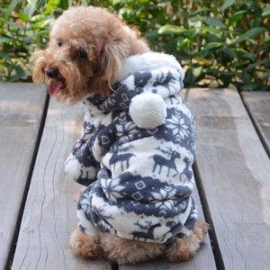 Köpekler Coat Köpek Chihuahua Kıyafet Büyük Köpek Hoodies Küçük Köpekler Giyim Sıcak Giyim için Yumuşak Polar Pet Köpek Giyim