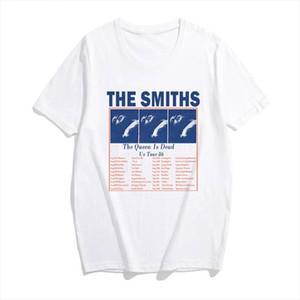 The Smiths printing girl T Shirt New Fashion Summer women Rock Band Top short sleeved O neck casual Harajuku t shirts plus