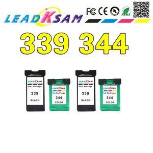 Leadksam ink cartridge compatible for 339 344 for 339 officejet 7210 7313 7410 Photosmart 2710 8450 printer1