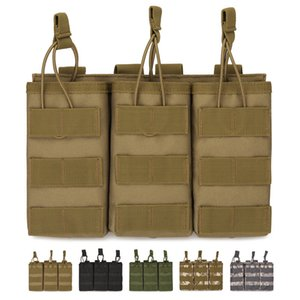 Tactical three bag magazine template component soft vest accessory bag M4 walkie talkie bag a6519