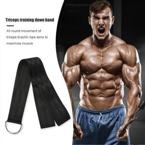 Nylon tricep corde biceps gym gym attrape ceinture musculaire formation muscle forme physique bodybuilding facile sécurité ornements ornements